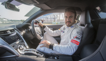 Alonso al volante del nuevo NSX en Estoril - 8 jul
