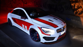 Mercedes CLA 45AMG by MRF Performance