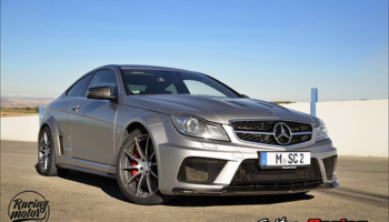 Reportaje: Mercedes C63 AMG Coupe