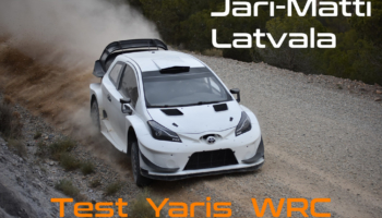 Test de Toyota y Latvala