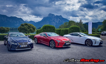 Lexus LC 500 Milan to Munich